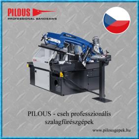 Pilous cseh professzionális szalagfűrészek
