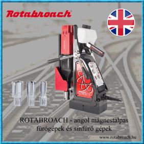 Rotobroach angol mágnestalpas fúrógépek és sínfúró gépek